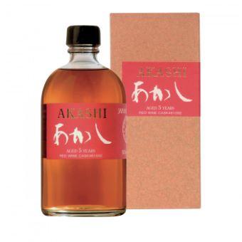 Akashi 6 ans Single Malt Red Wine Finish 50%