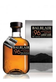 Balblair 1996 Spanish oak 54.4%