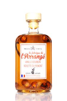 Tricoche Rhum arrangé Vanille Bourbon Noisette 32%