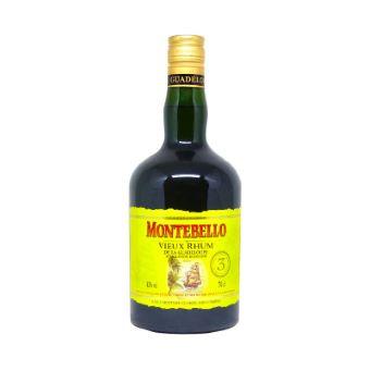 Montebello Rhum Vieux 3 ans 42%
