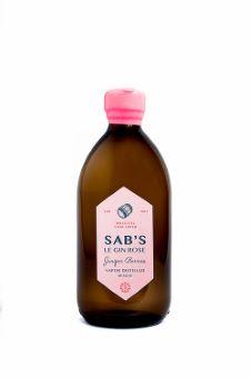 Sab's Le Gin Rose - Finish en fut de Moscatel Rosé 46%