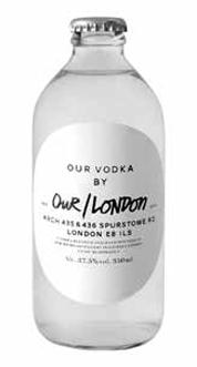 Our/Vodka London 37%