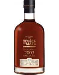 Rivière du mat Millésime 2003 46%