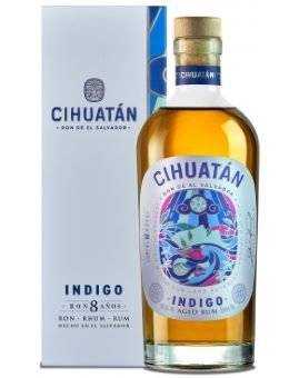 Rhum Cihuatan Indigo 8 ans 40%