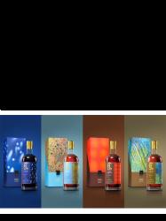 Kavalan Artist Series Paul Chiang Set de 4 bouteilles 56,7%