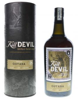 Kill Devil Guyana 24 ans (Distillerie Enmore) 46%