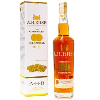 AH Riise 1888 Copenhagen Gold Medal Rum 40%