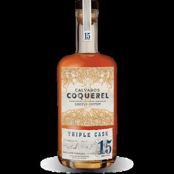 Coquerel Calvados 15 ans d'âge Triple Cask 42%