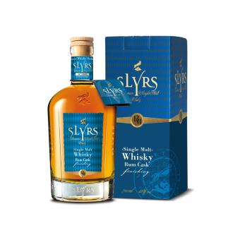 SLYRS Single Malt Whisky Finition fût de rhum 46%