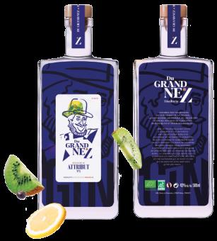 Gin Attribut N°1 Bio 43%