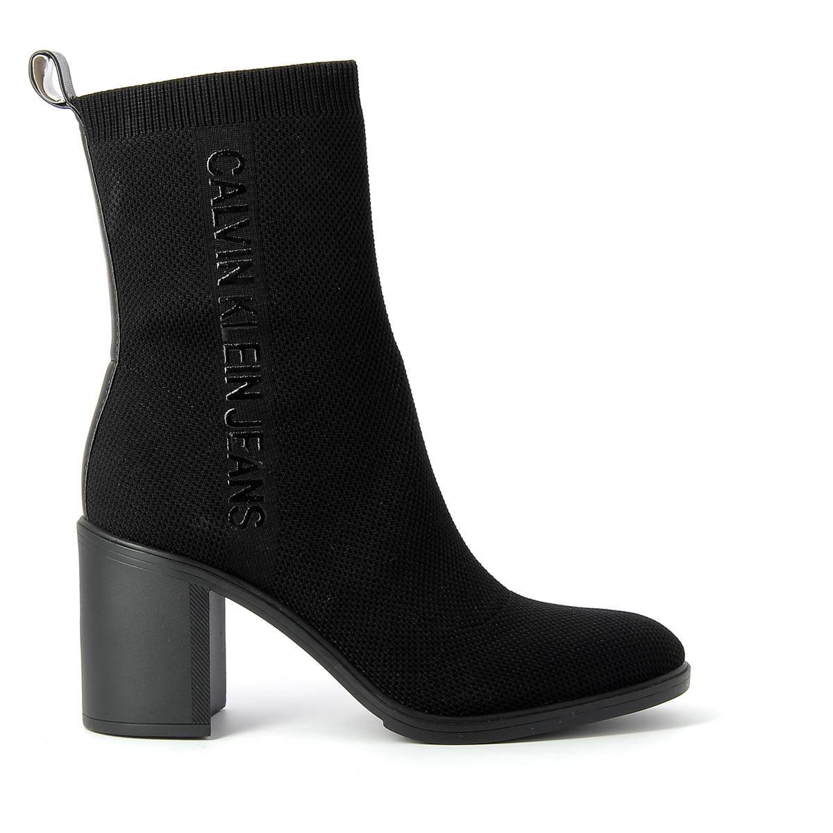 Bottine Femme Calvin Klein Block Heel