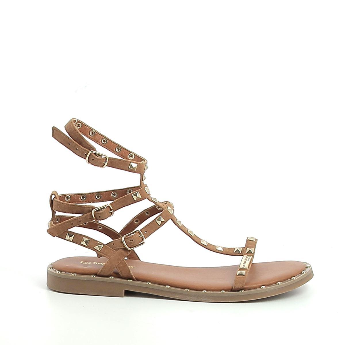 Les Tropéziennes Cassie sandale plate femme