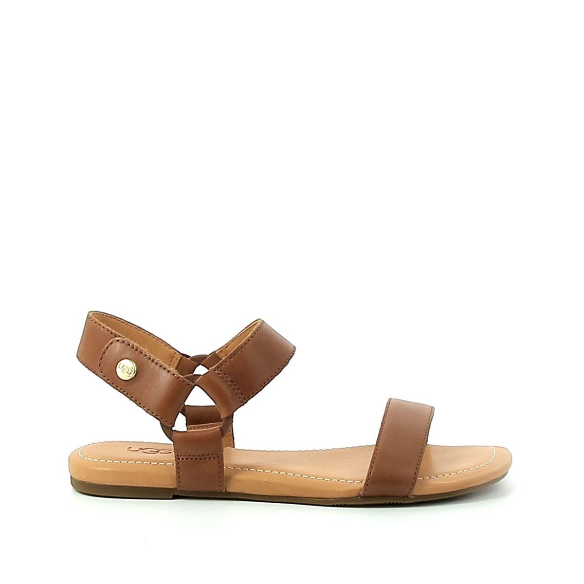 Sandale plate femme UGG Rynell