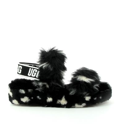 Sandale fourée femme UGG Oh YEAH Spots