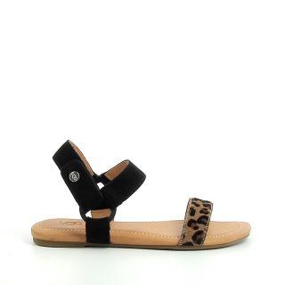 Sandale plate femme UGG Rynell Leop