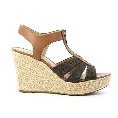 Sandale compensée femme MICHAEL KORS Berkley wedge