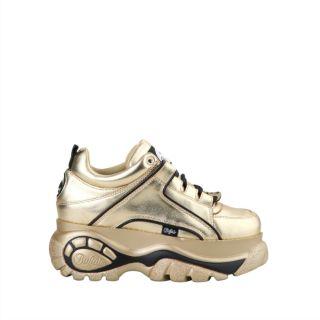 Sneaker femme BUFFALO 1339 metal Gold
