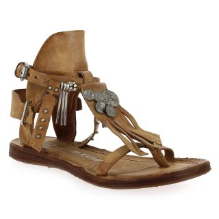 Sandale plate femme AS98 557015