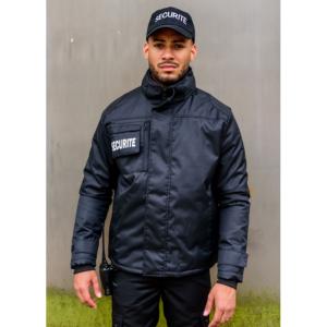 Parka/blouson SECURITE noir
