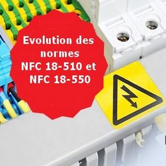 Norme NFC 18-510 et NFC 18-551 | Equipement sécurité