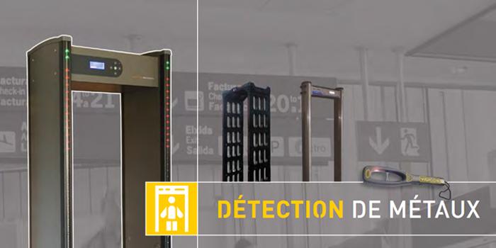 portique de sécurité détecteur de métaux