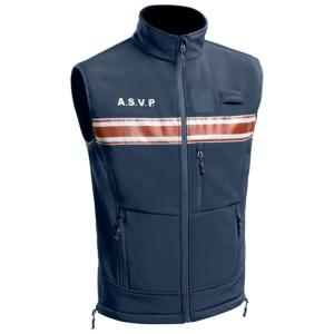 Gilet softshell sans manches A.S.V.P.