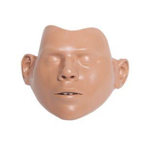 5 Peaux de visage Mannequins adulte