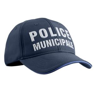 Casquette Stretch Fit Police Municipale