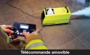 Générateur de fumée SMOKE 5 2100W - 1320m3 / minute