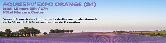 26ème AQUISERV EXPO - Orange (84) - Hôtel MERCURE