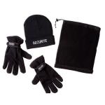 Kit hiver : Bonnet +  Tour de cou + Gants