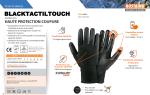 Gants de palpation anti-coupure compatible écrans tactile