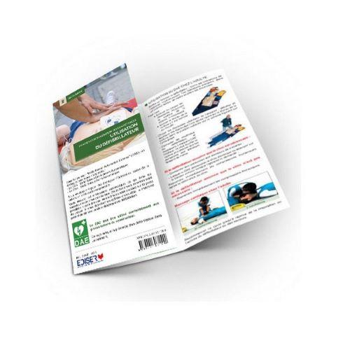Dépliant de formation Recyclage Défibrillateur