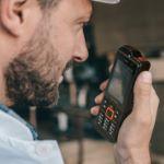 Mobile GSM d'urgence PTI/DATI GPS / ATEX zone 1/21