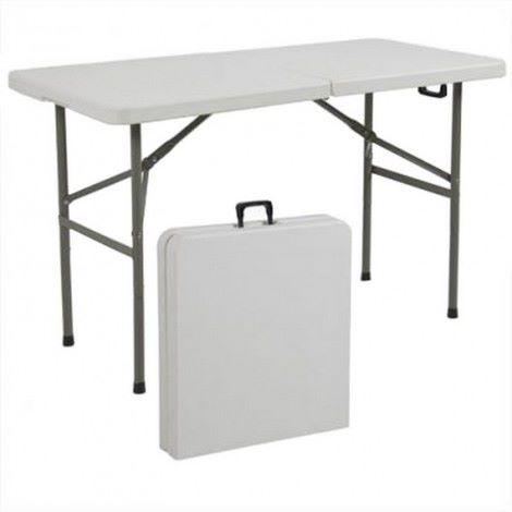 Table pliante pour portique de sécurité