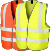 Chasuble Haute Visibilité - jaune ou orange