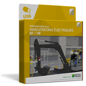 Support formateur - Clé USB : Habilitations électriques BF / HF