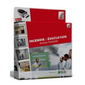 Support formateur - Clé USB : Incendie : évacuation (Industrie)