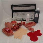 Kit de maquillage 7 plaies