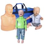 Pack 3 Mannequins de formation RCP : Adulte + Enfant + Nourrisson - Version plus