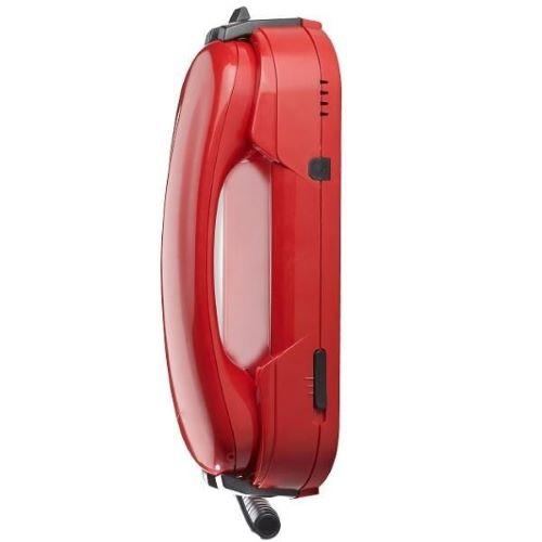 Téléphone rouge sans clavier