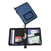Porte documents organiseur de véhicule - SIMILI CUIR BLEU