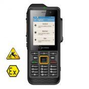 Mobile GSM d'urgence PTI/DATI GPS / ATEX zone 2/22