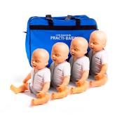 Pack 4 Mannequins Nourrisson - Practi-Baby