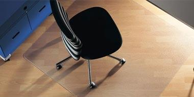 Tapis protège-sol pour chaise de bureau