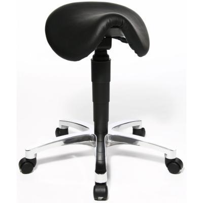 BIEL - Siège assis debout forme selle en cuir