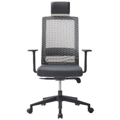 SQUARE T - Siège de bureau ergonomique avec têtière