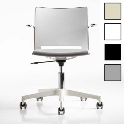 EKLO - Chaise de bureau design - Blanche