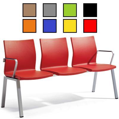 GISTAL - Chaise poutre en tissu 2 à 4 places
