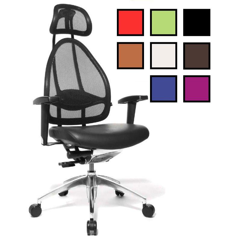 Fauteuil De Bureau Ergonomique Confort Du Dos Cortex 8 Coloris